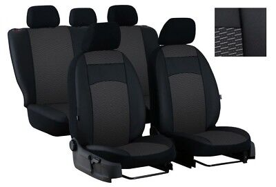EcoLeather+Fabric Tailored Full Set Seat Covers MERCEDES CLASS C W202 1993 -2000 for sale  Shipping to Ireland