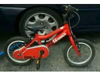 Ridgeback MX14 aluminium frame kids bike