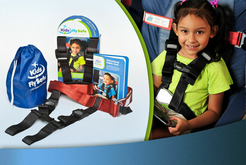 New Kids Fly Safe CARES Airplane Safety Harness NISP 22-44 LBS  - $29.97