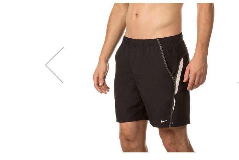 Nike 717384 Men/'s Mesh Lined Swim Trunks Shorts Navy//Red//Blue//Gray Size S NWT