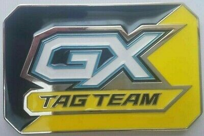 OtBG GX Metal Yellow Black Tag Official Pokemon TCG Marker counter Unused New