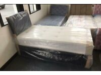 Express Delivery Single Size Divan Bed & Mattress