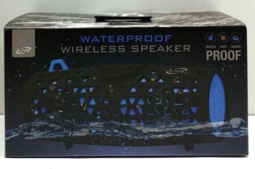 iLive- Portable Bluetooth Speaker - Blue