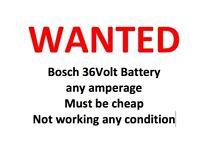 Bosch 36 V battery any condition