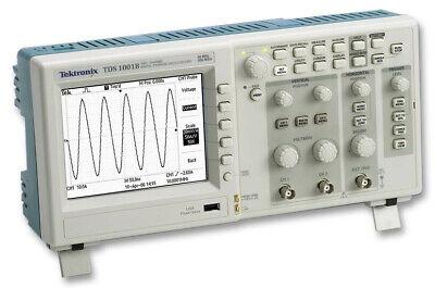 Tektronix Tds1002b Portable Digital Oscilloscope 60mhz 1gss Sample Tds 1002b