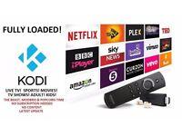 AMAZON FIRE TV STICK ✔FULLY LOADED✔KODI 16.1 ✔ LIVE TV ✔SPORTS ✔MOVIES ✔TV SHOWS