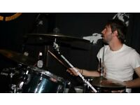 Versatile session drummer available for live and studio sessions