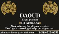 Event Planner-DJ Arabic-English & Latino