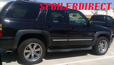 FACTORY STYLE FENDER FLARES 00-06 CHEVY TAHOE - SMOOTH - FRONT & REAR  - 6 PCS (Tahoe Front Fender)