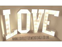 Light Up LOVE Letters for Hire *SPECIAL OFFER* - Based in Manchester/Cheshire - Perfect for Weddings