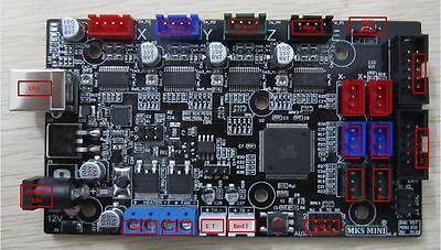 3d Printer Controller Board Mks Mini Combination Of Reprap Ramps1.4 Mega2560