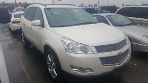 Used 2012 Chevrolet Traverse-AWD, 7 Passenger, Heated  Cooled Le