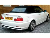 Factory white BMW e46 cabriolet swap px