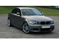 "(2012) BMW 1 SERIES 120D M SPORT PLUS 2DR - 18"" ALLOYS - AUTO - LEATHER - FSH - UPGRADES - TOP SPEC"