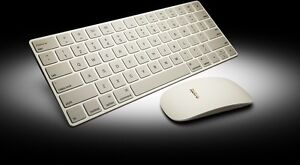 Apple Magic Mouse 2 and Apple keyboard 2