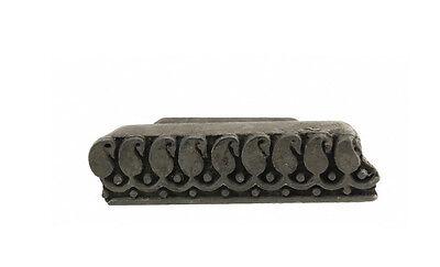 Antique Bunta Stamped Wood Printing Fabric Textile Batik Rajasthan India NP17B7