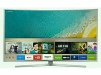 "Samsung 49"" Curved 4k UHD new KU6500 Series LED SMART WI-Fi TV BUILT IN HD FREEVIEW ."