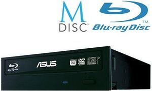 ASUS Blu-Ray Combo 12 x BluRay CD DVD Recorder Rewriter Sata Internal Drive
