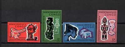 Belgisch Congo Belge Rep. Congo n° 613/616 imperf. MNH African Art c17.50Eu