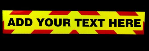 Magnetic+Fluorescent+Warning+Sign+%28Add+Your+Own+Text%29+1200mm+Large