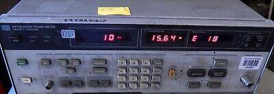 Hp Agilent 8970b 8970 10mhz-1.6ghz 30db Noise Figure Meter Measurement