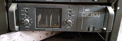 Peavey CS 800 Stereo Power Amplifier segunda mano  Embacar hacia Mexico