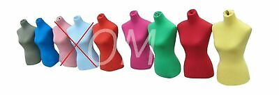 Dress Form Mannequin Dummy Fabric Material Cover Choose A Color