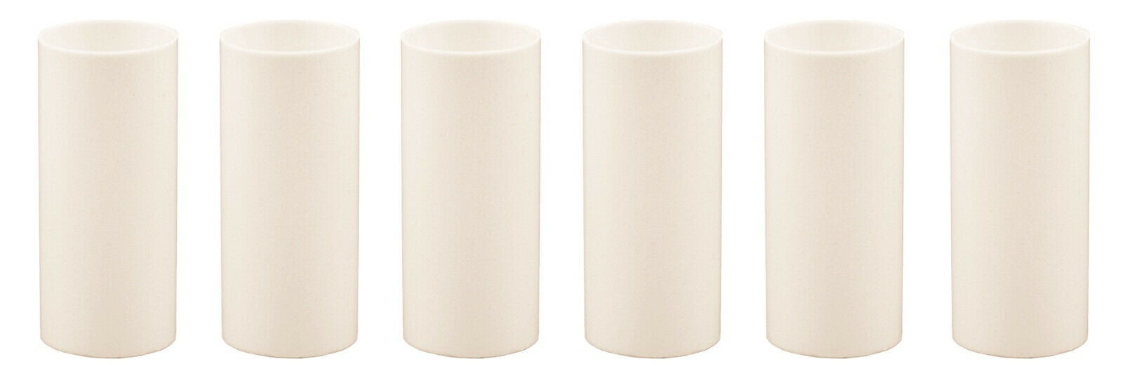 2 Inch Cream Plastic Candle Cover For Candelabra Base Lamp Sockets, 6 Pieces Collectibles