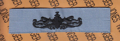 USN NAVY Surface Warfare Specialist Qualification embroidered cloth patch Blue