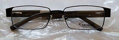 New Fatheadz Men's Amplitude XL FH/00186 Eyeglasses Eyeglass Frames Extra Large