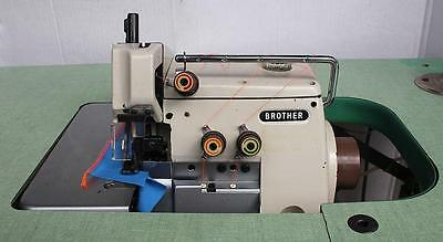Brother Ef4-b511 1-needle 3-thrd Overlock Serger Industrial Sewing Machine 110v