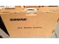 2 x Shure Professional Wireless Microphone System like Sennheiser Pro Audio Top Of The Range System