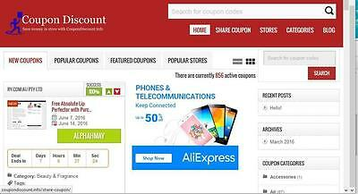 Best Coupon Site With Affiliate Link - Free Installation Hosting