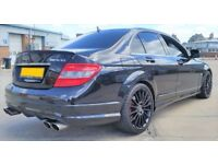 MERCEDES C320 CDI SPORT AMG C63 REPLICA FULLY LOADED F.S.H (A3 S3 GTD RS3 RS4 GOLF R BMW E CLASS)