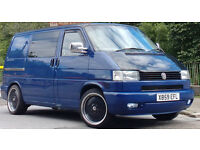 2000 VW TRANSPORTER 50TH ANNIVERSARY EDITION 1.9 TD, T4 MANY EXTRAS, TWIN DOORS, DAY VAN CAMPER VW