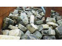 Granite Cobble-setts.- Reclaimed