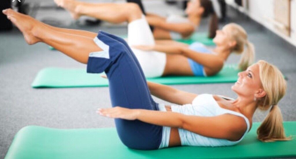 Fitness legs, bums and tums class, Southbourne