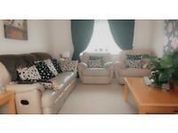 3 piece reclining sofa set