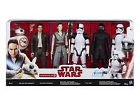 Brand new in box. Star Wars Last Jedi Figures