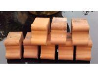 Set of 8 Terracotta Plant Pot Feet