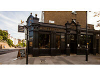 Full time & part time Chef de Partie & Kitchen Porter needed For busy Gastro Pub Kentish Town - ASAP