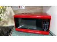 Red cookworks microwave