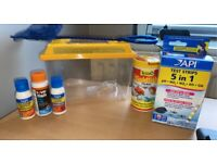 Fish tank 25L with accessories