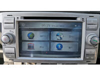 "Xtrons 7"" Car Stereo GPS DVD Player Radio DAB USB SD for Ford Focus Galaxy Cmax"