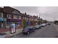 Shop to let on a busy road in Dagenham - Glass front with Electric Shutters