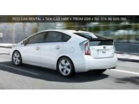 PCO..HIRE..CAR..RENTAL..TOYOTA..PRIUS HYBRID MINICAB HIRE/ RENTAL LONDON