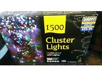 1500 Christmas Cluster Lights RRP£150