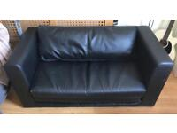 [House Clearance, GREAT VALUE] Black Sofa / Sofa Bed