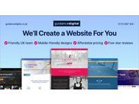 🚀 Mobile-friendly Web Design   From £129   Start for Free   UK Designer   WordPress