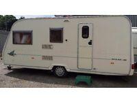 Avondale Dart 510-5 Caravan 2004 plus Full Awning and Porch Awning